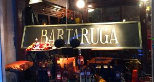 Bartaruga wine bar near Rome's Turtle Fountain