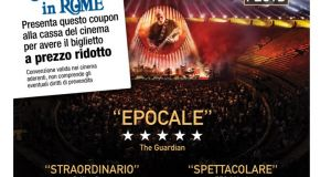 David Gilmour - Live at Pompei 2 euro discount on ticket for WIR Card Holders