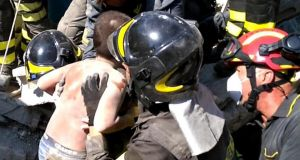 Three children saved after Ischia earthquake