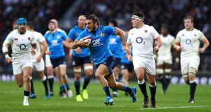 Six Nations rugby in Rome in 2018