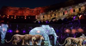 Colosseum recalls opening games with virtual reality