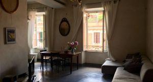 Trastevere San Cosimato luminous 3 bedrooms