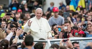 Pope prays with young people at Circus Maximus