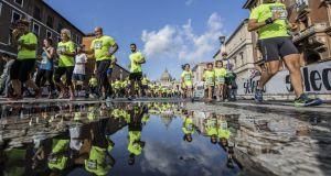 Half marathon for peace in Rome