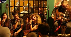 Open Mic Rome: performing live on a Roman stage