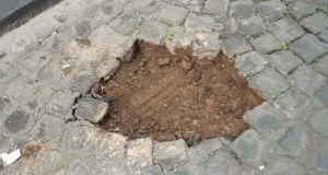 20 Holocaust memorial cobblestones stolen in Rome