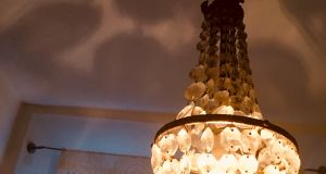 Vintage crystal chandalier
