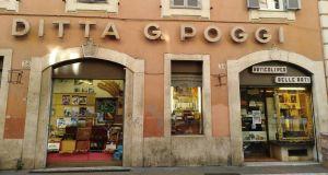 Poggi: serving Rome artists since 1825