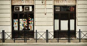 Tram Tram trattoria in Rome's S. Lorenzo quarter