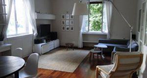 2-bedroom remolded flat renting furnished