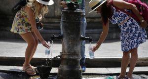 Heatwave warning in Rome