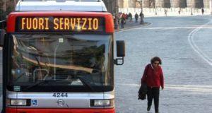 Rome public transport strike on 20 June