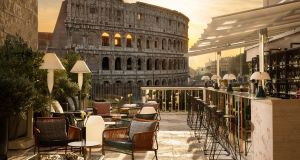 The Court: Rome cocktail bar with Colosseum view