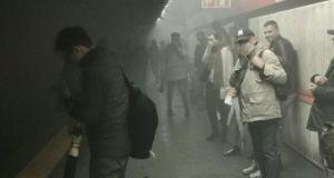 Rome metro station evacuated over smoke