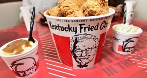 Rome: Kentucky Fried Chicken opens at Tiburtina