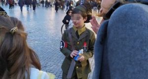 Little Hitler costume shocks in Piazza Navona carnival