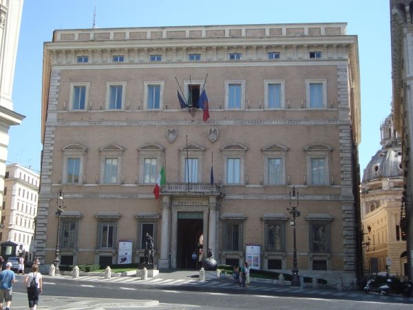 Rome's Palazzo Valentini opens permanently