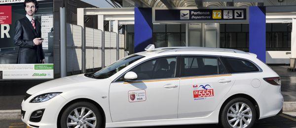 Free wi-fi in Rome taxis