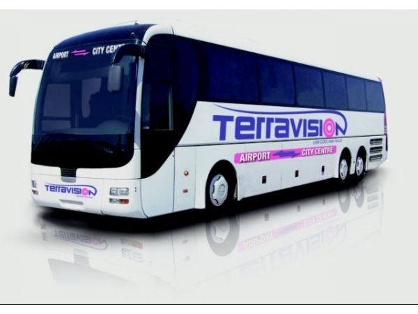 Rome airport bus transfer