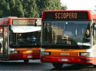 Public transport strike in Rome on 6 July