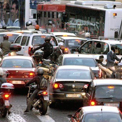 Rome third most-congested city in Europe