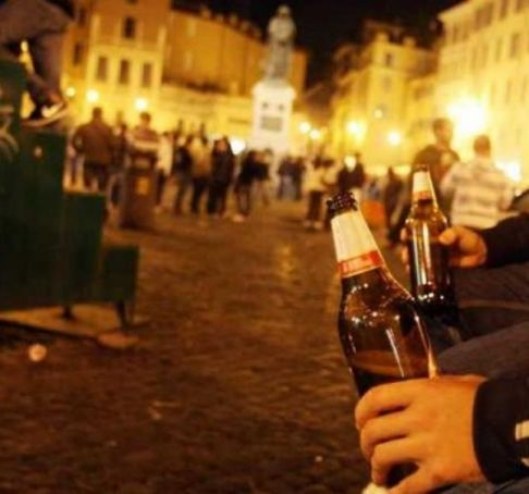 Return of Rome's anti-alcohol laws