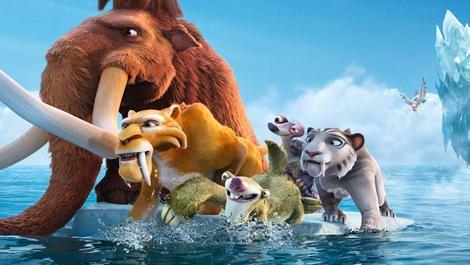 English language cinema in Rome: Ice Age 4