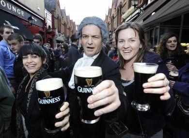 Guinness in Rome