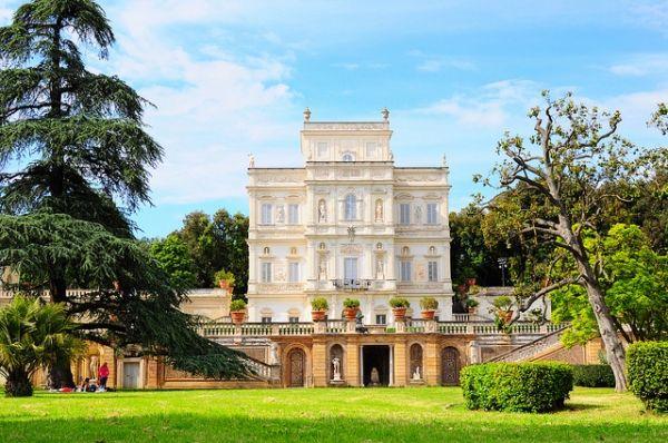 Rome's villas open to public in October