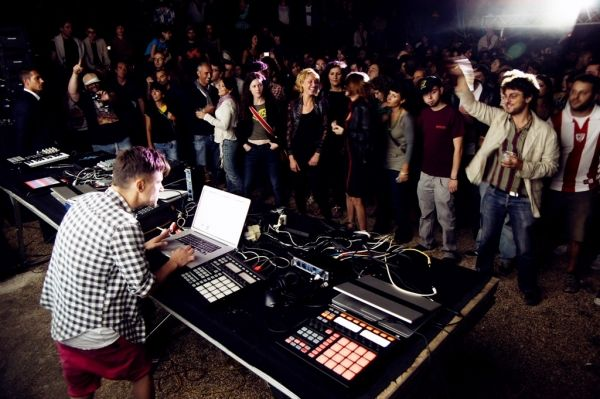 Electronic music festival in Rome