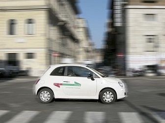Increased car sharing in Rome