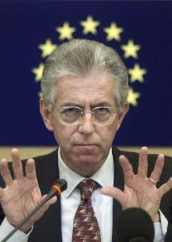 No Monti Day in Rome