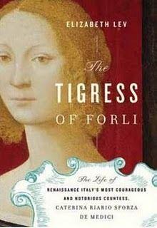 English language books in Rome: The Tigress of Forlì