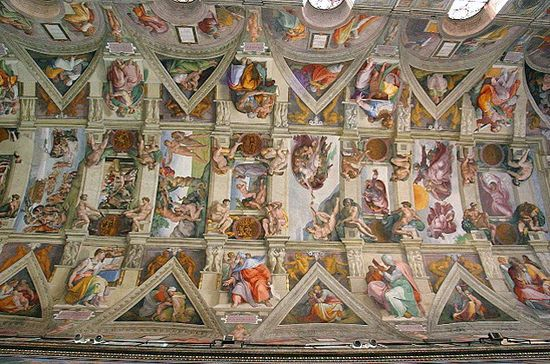 Sistine Chapel ceiling celebrates 500 years