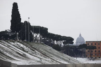 Skiing World Cup in Rome?
