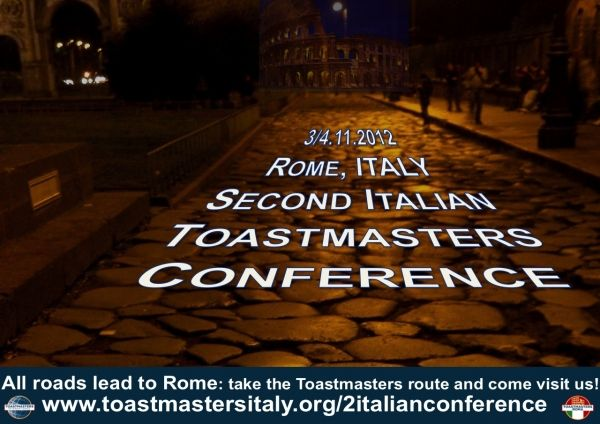 Second Italian Toastmasters Conference