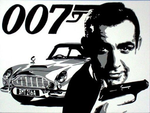 James Bond 50. Photo retrospective.
