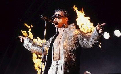 Rammstein concert in Rome