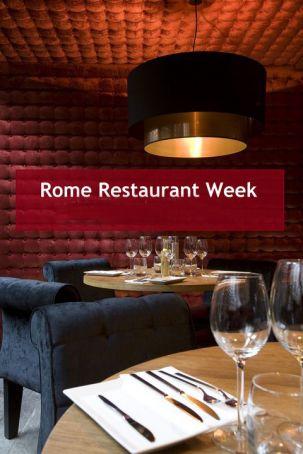 Restaurant Week in Rome