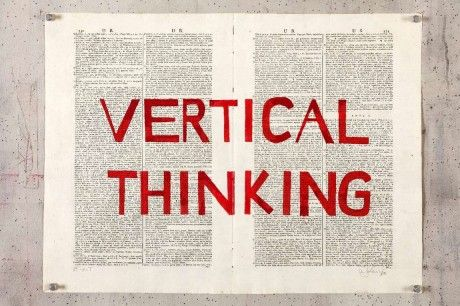 Vertical Thinking