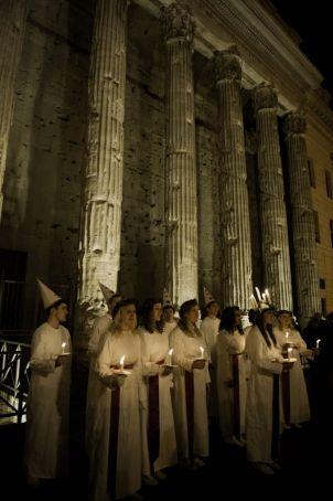 Swedish Santa Lucia concert in Rome