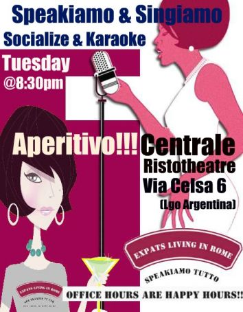 Karaoke & Socializing Night Aperitif