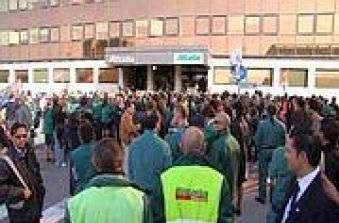Strike at Fiumicino airport