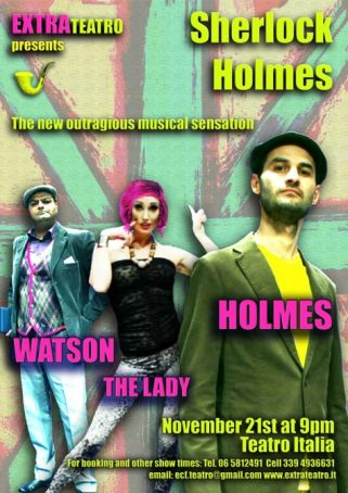 Sherlock Holmes: Musical In English!