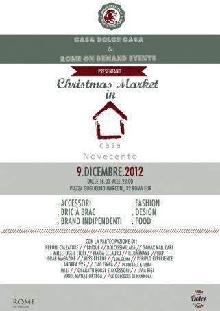 Christmas Market a Casa Novecento