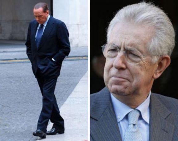 Monti and Berlusconi