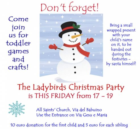 Ladybirds' Christmas Party