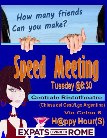 Expats Speed Meeting Aperitif