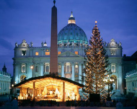 Christmas religious services in English