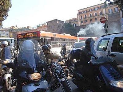 Anti-smog measures in Rome